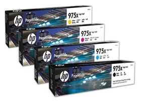 HP 975X High Yield Black Original PageWide Cartridge (L0S09AA)
