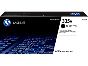 HP 335A Black Original LaserJet Toner Cartridge (W1335A)